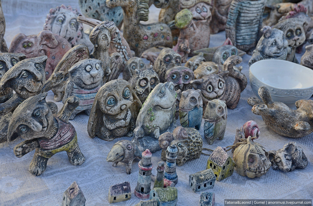 Ночь музеев-2017 в картинной галерее Г.Х.Ващенко. Гомель