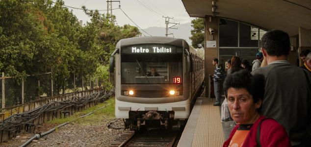 Стоимость проезда в метро в Тбилиси