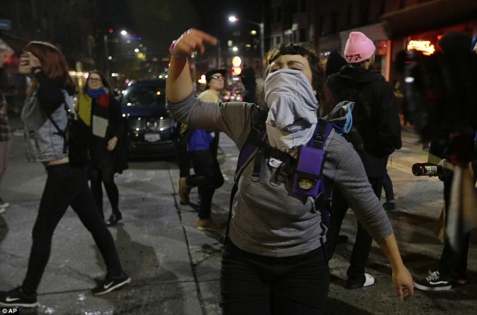 В Сиэтле неподалеку от места проведения протестной акции против Дональда Трампа в результате стрельб