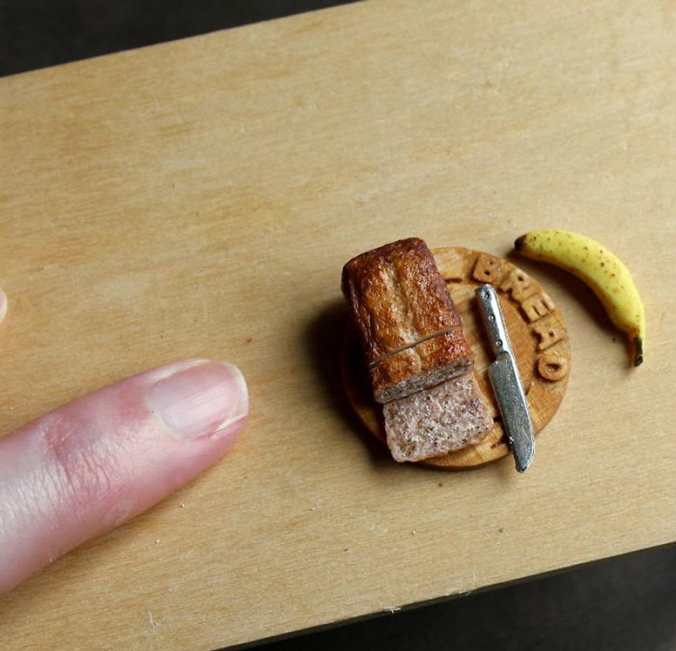 Банановый хлеб.