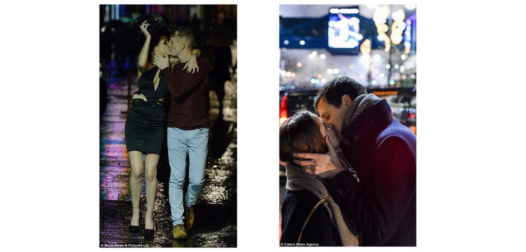 Посреди алкогольного угара надо не забыть и о романтике…