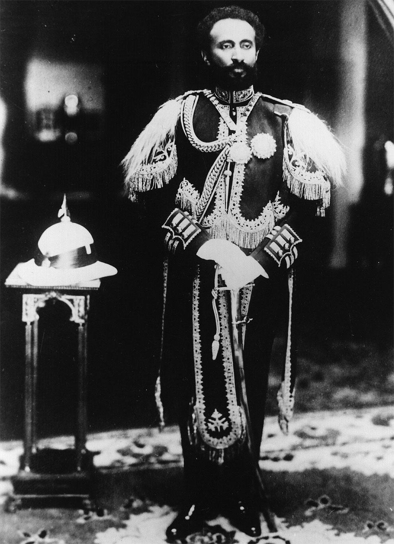 Когда Эфиопия подверглась нападению со стороны Италии, в 1936 году Хайле Селассие на собрании Лиги Н