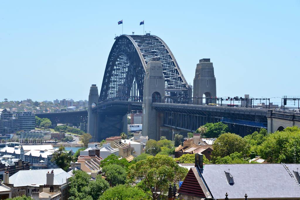 Вокруг Сиднейского моста