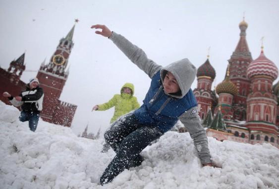 Зима вМоскве стала самой ранней за137 лет