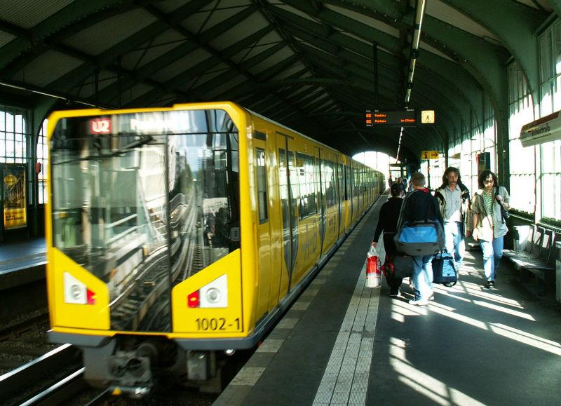 За правонарушителя вберлинском метро объявлено вознаграждение