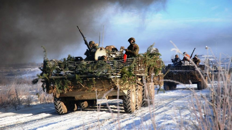 Двое военных погибли около Марьинки— штаб АТО