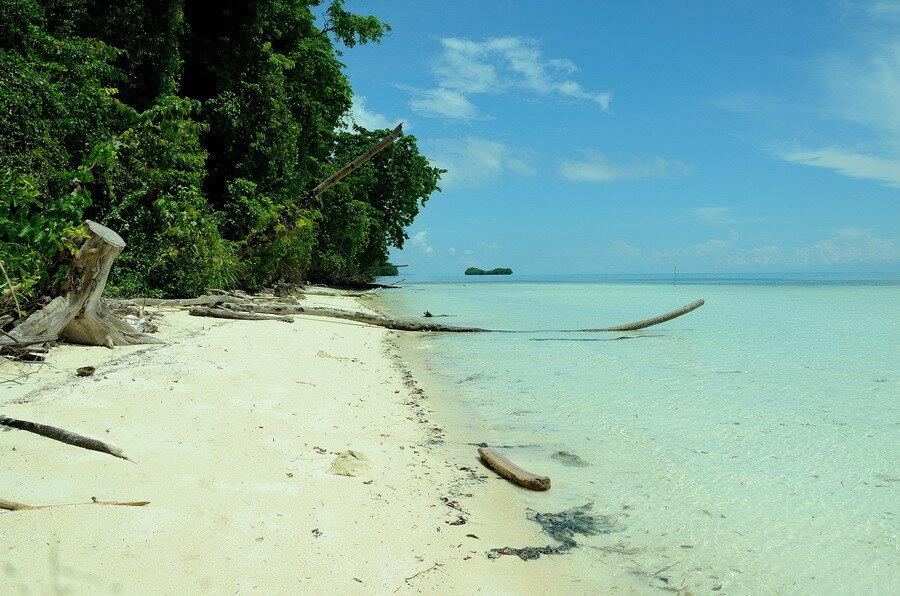 Пляж на мысу Батудака