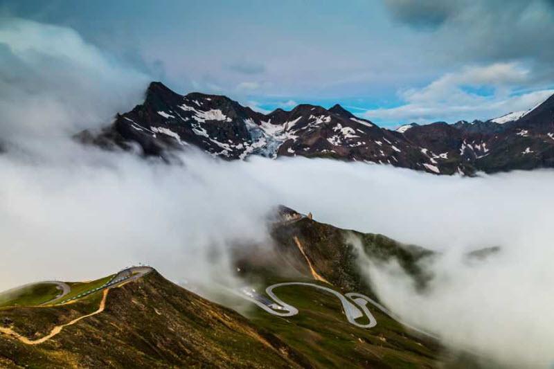 Гросглокнер — самая красивая высокогорная дорога Европы
