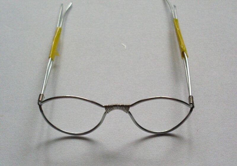 Как из проволоки сделать очки