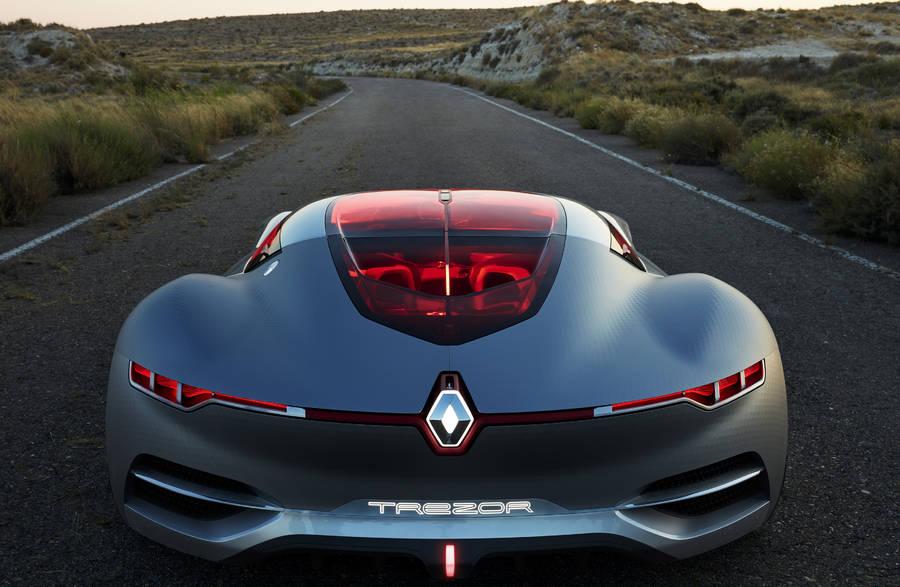 Futurist Concept Car Renault Trezor