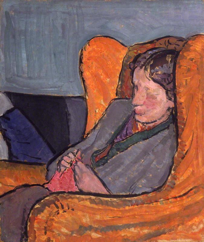 NPG 5933; Virginia Woolf (nÈe Stephen)