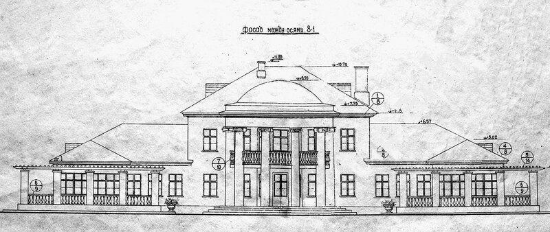 Эскизы оформления фасада детских яслей на 66 мест (№ 778)