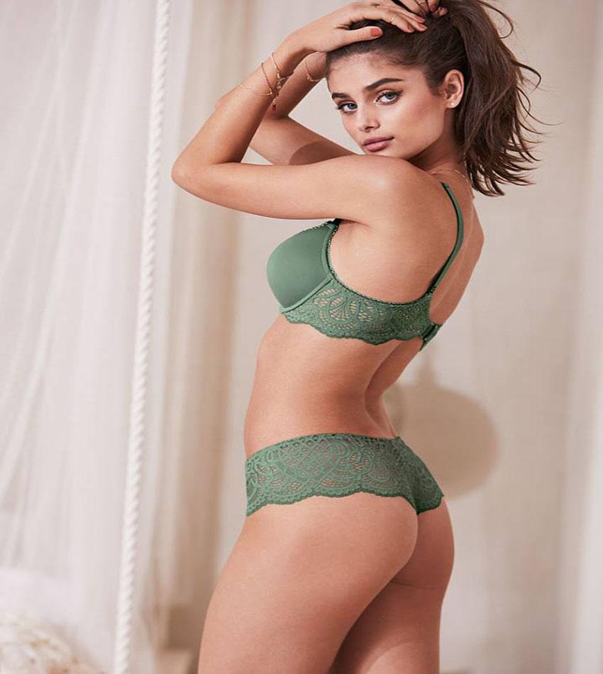 Taylor Hill for Victoria's Secret Lingerie December 2016 Lookbook