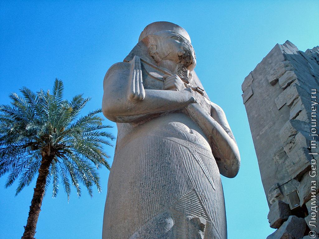 Рамзес II Карнакский храм в Луксоре