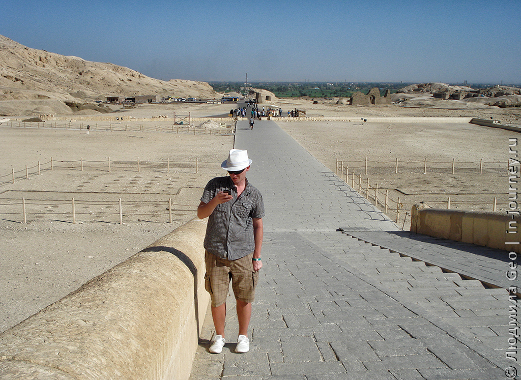 Храм Хатшепсут вход