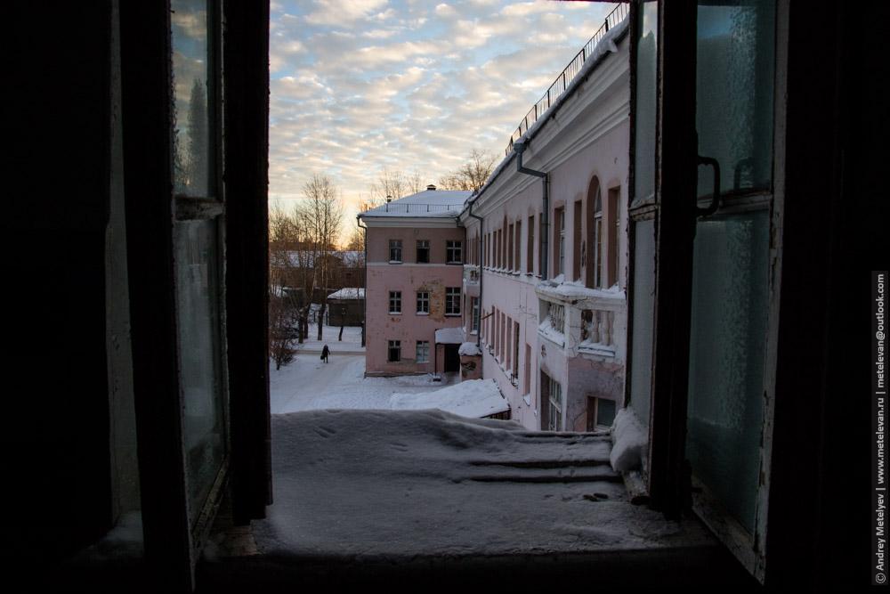 вид из окна третьего этажа больницы номер шесть