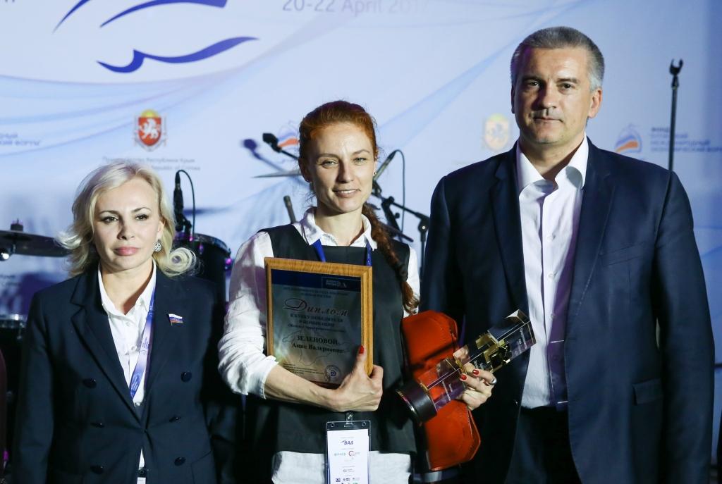 'Торжественный прием от имени главы Республики Крым. Подведение итогов конкурса Предприниматель