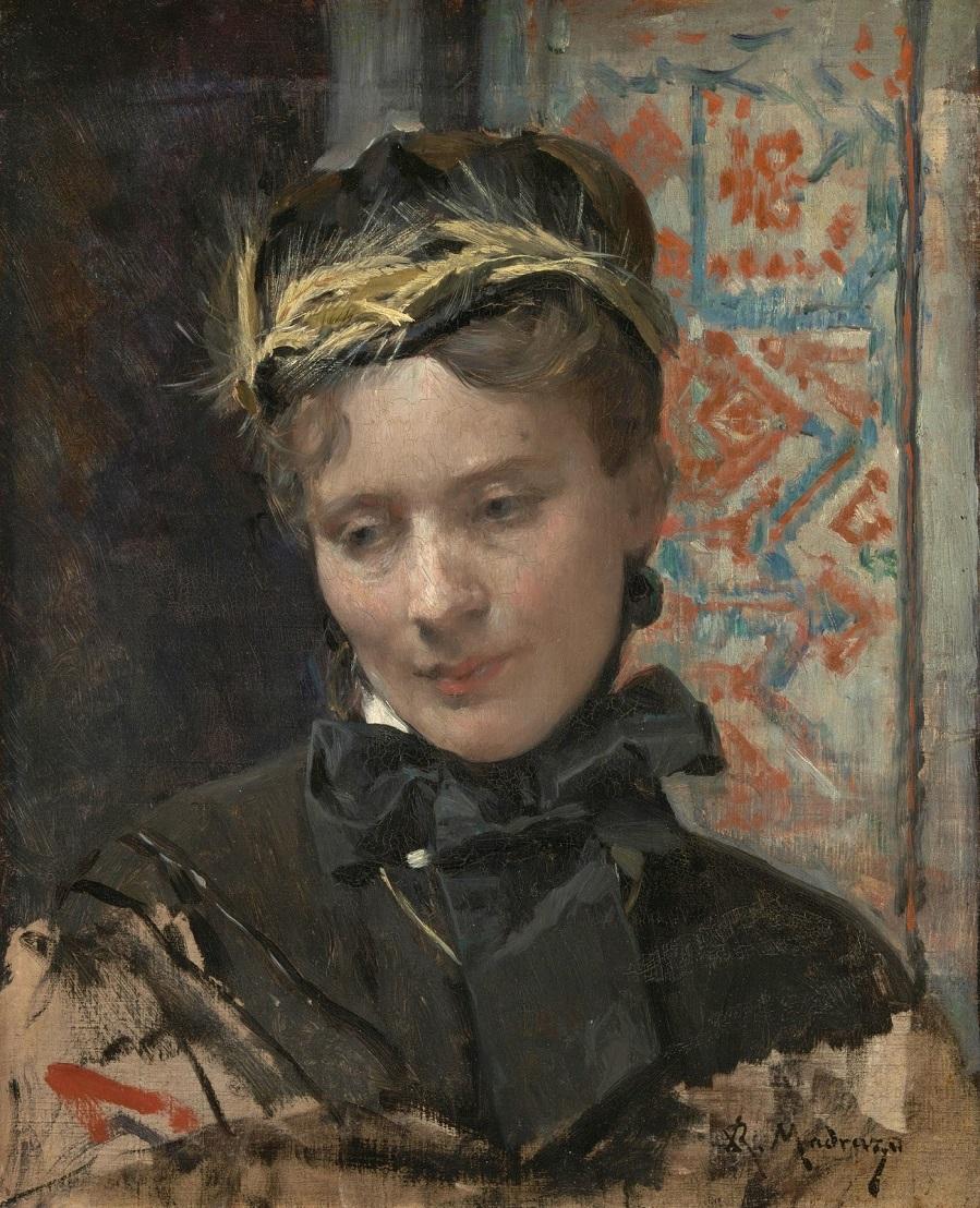 1885-1895_Портрет дамы (Portrait of a Lady)_49.5 x 40_х.,м._Лондон, Национальная галерея.jpg