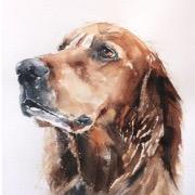 Собачка рисунок