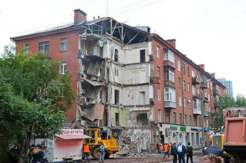 Куйбышева 103 Пермь рухнувший дом после расчистки завала.jpg