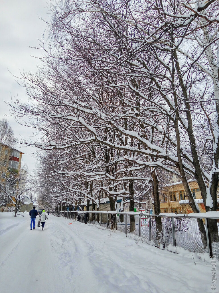Златоуст. Снег