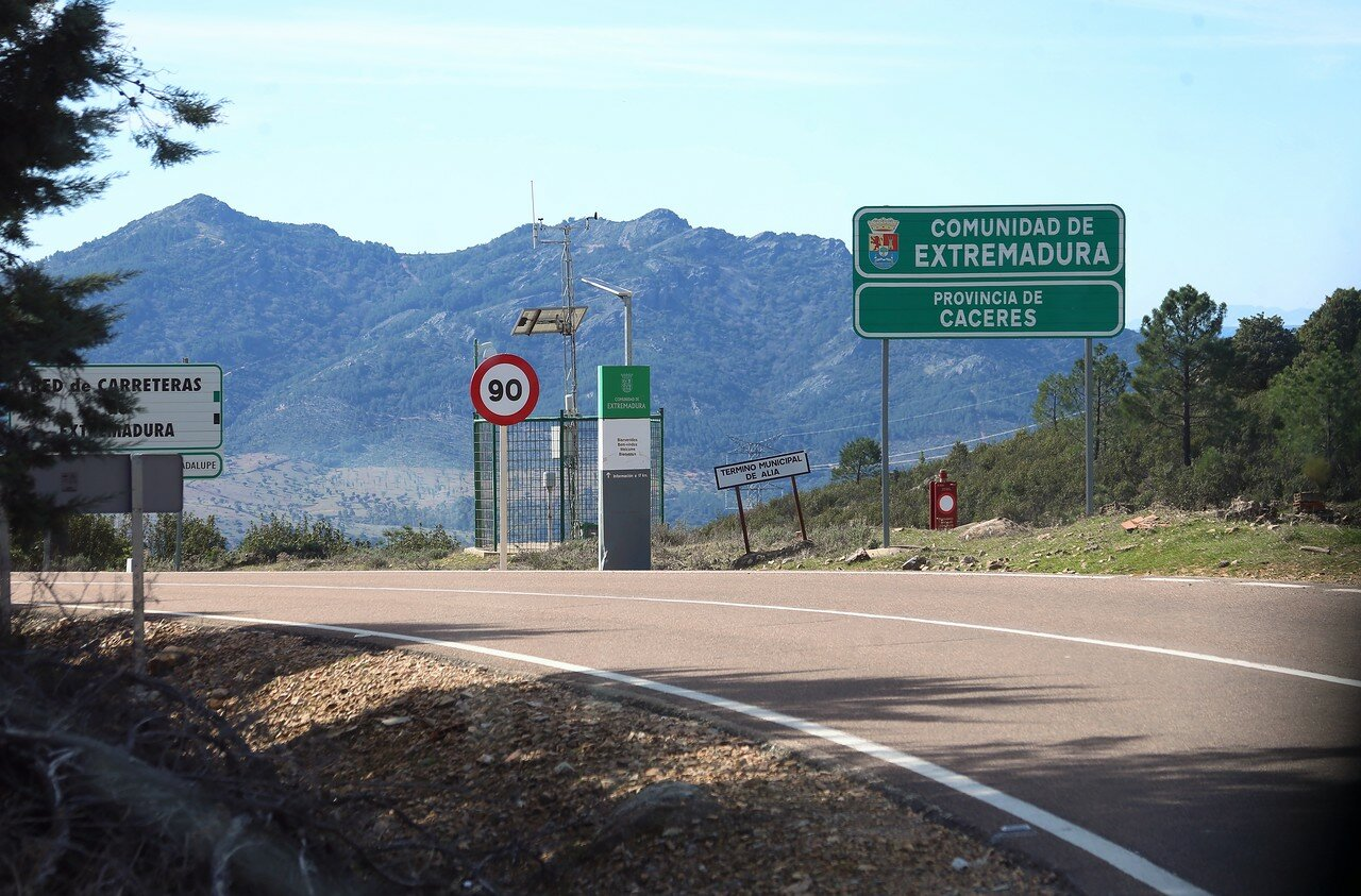 The Villuercas Mountains, Extremadura