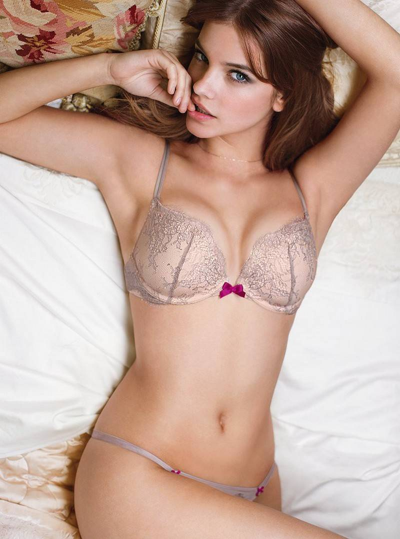 Barbara Palvin – Victoria's Secret Lingerie Photoshoot (35 фото) 18+