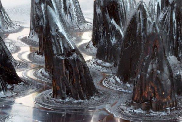 7. Утесы ферромагнитной жидкости