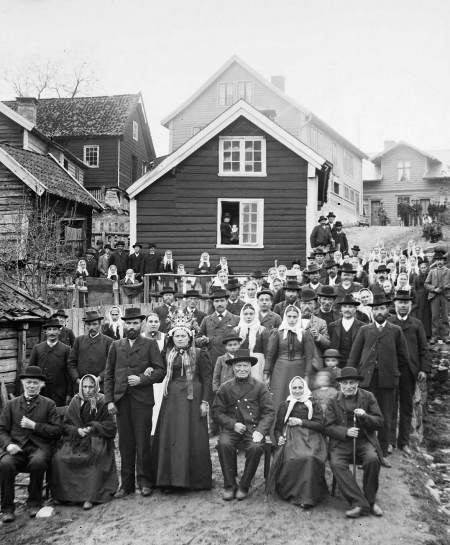 Портреты норвежцев на фоне эпических пейзажей, снятые в 1900 году