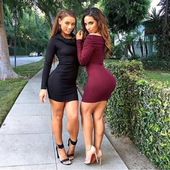 Прекрасные дамочки с сочными формами