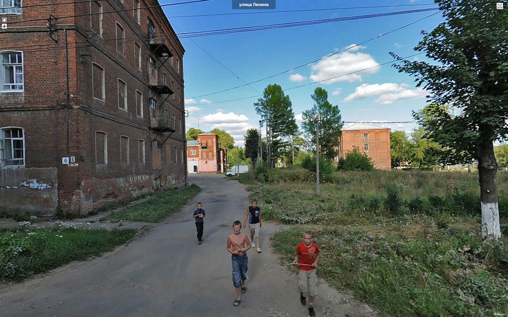 Высоковск, улица Ленина.