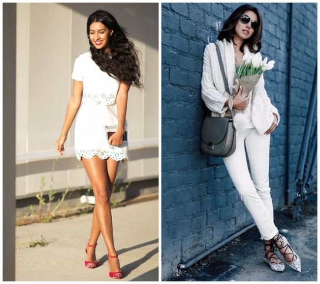 © sissyalamode  © thevivaluxury  Разнообразить образ помогут цветные детали: сумка, обув