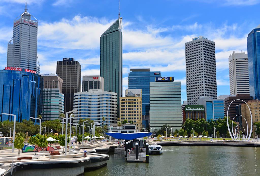 Самый западный мегаполис Австралии