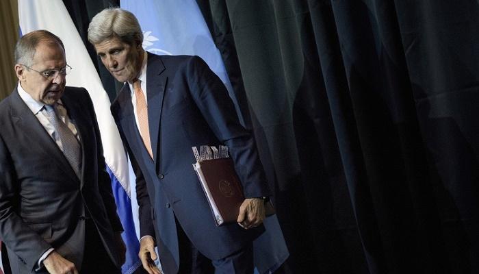 Лавров обсудит сКерри Сирию