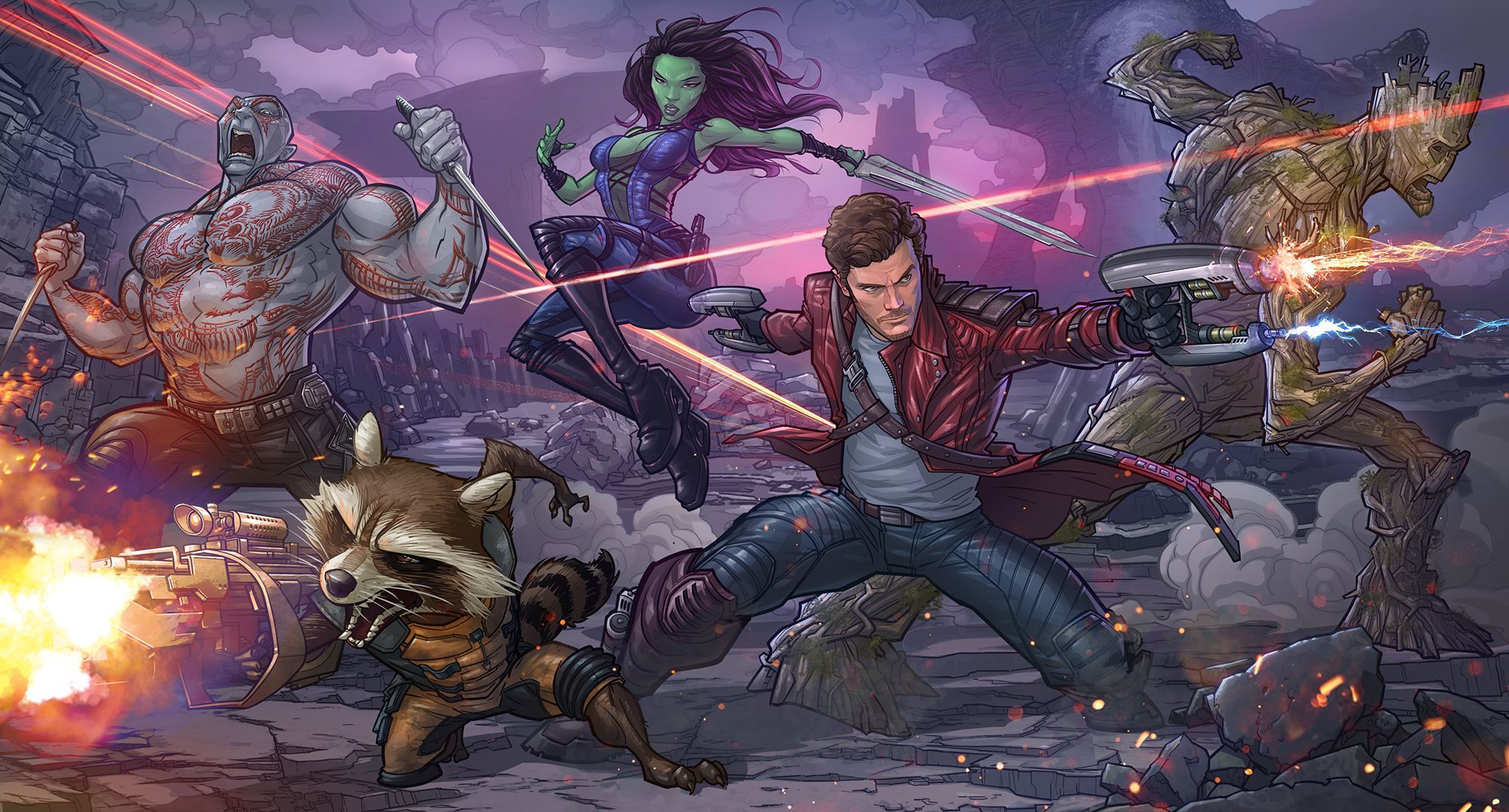 [TGA 2016] Мировая премьера игры Guardians OfThe Galaxy: The Telltale Series