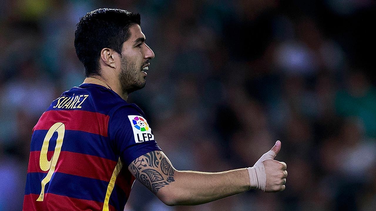«Барселона» объявила опродлении договора  сСуаресом
