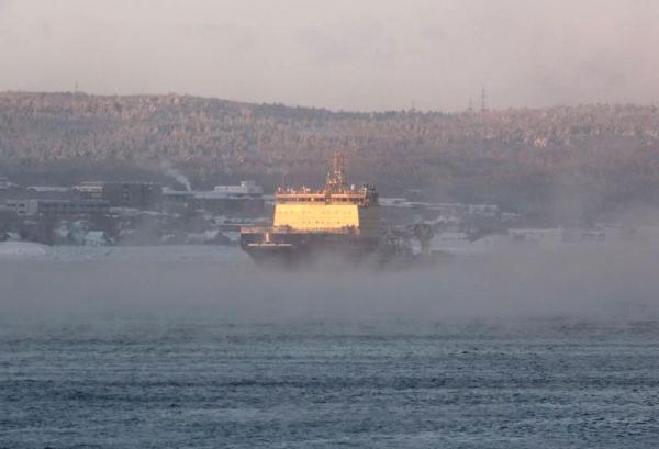 Новый ледокол «Новороссийск» вернулся изпервого похода