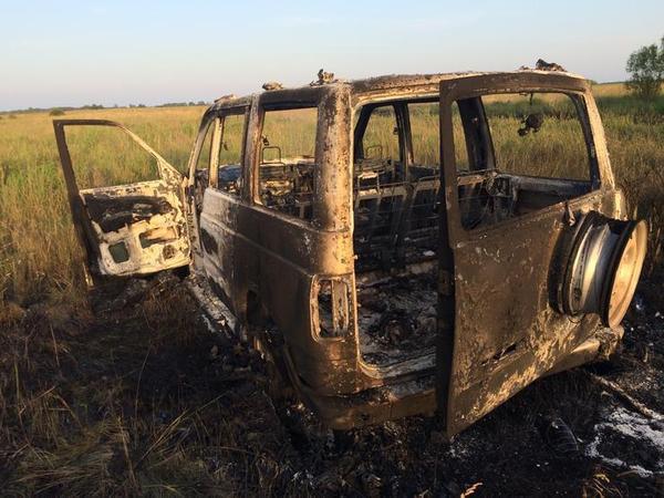 УАЗ Патриот сгорел на внедороге, теперь владелец должен денег
