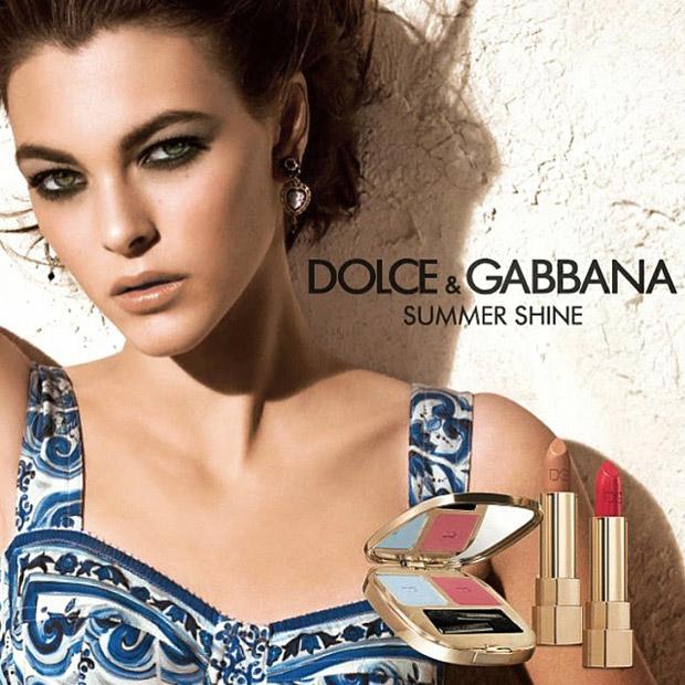 Vittoria Ceretti for Dolce & Gabbana Summer Shine (4 pics)