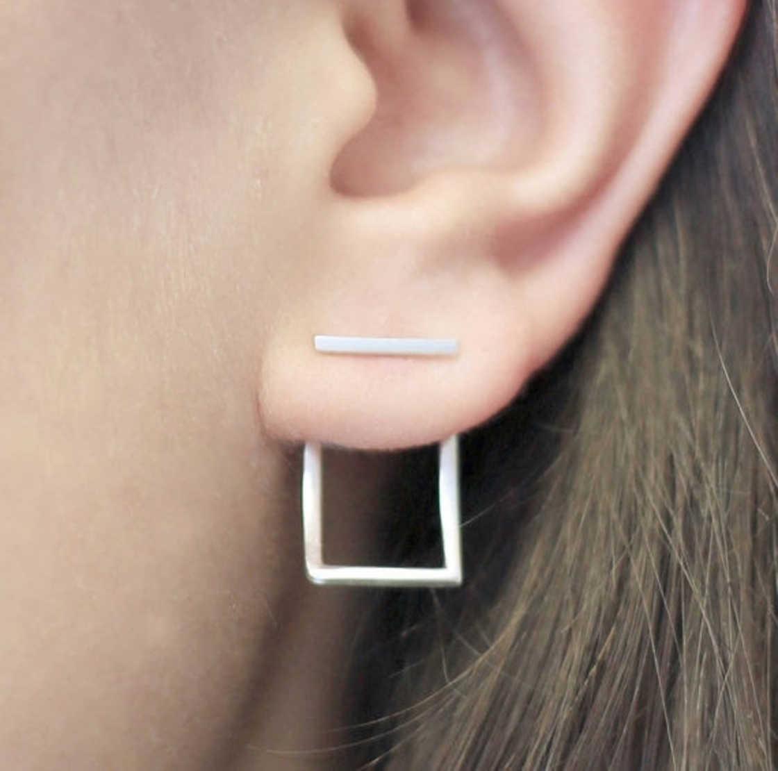 Illusion Earrings - The innovative earrings of designer Otis Jaxon