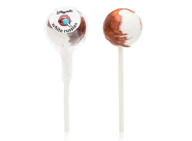 white russian lollipops