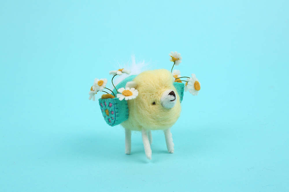 Adorable Animal Characters Crafted Out of Felt by Cat Rabbit