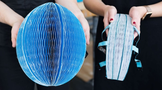 Folding & Recyclable Helmet for Bike