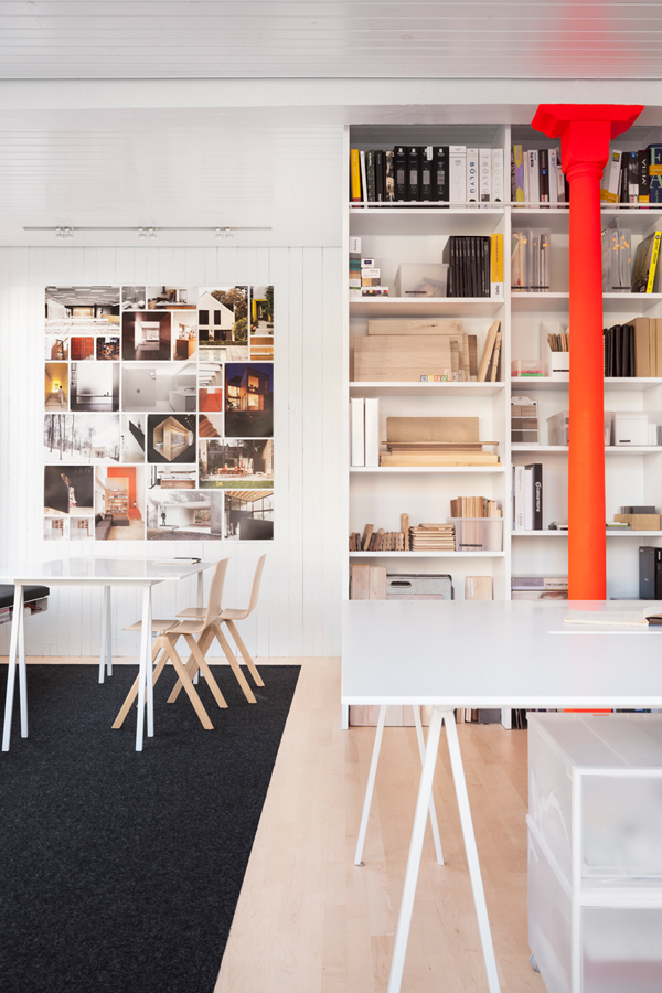 Take A Tour of la Shed Architecture's Work Space In Montreal
