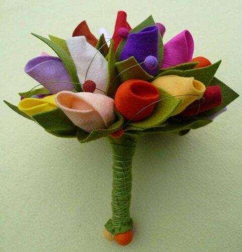 Декоративные тюльпаны для праздничного декора