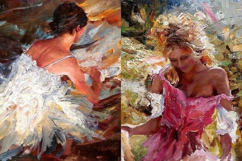 Художник Скотт Мэттлин: прекрасные женские портреты