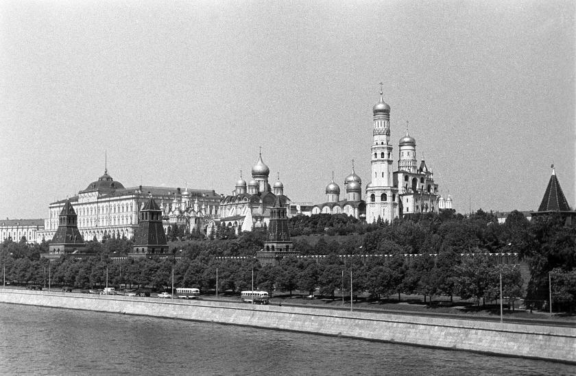 Кремль. Foto: Manfred Uhlenhut. Июнь, 1964