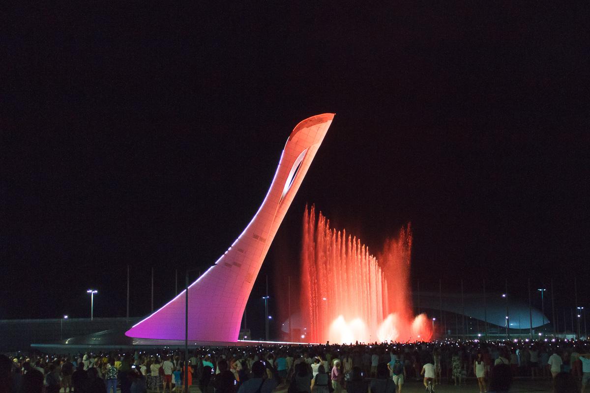 Поющий фонтан, Олимпийский парк, Сочи фото 8