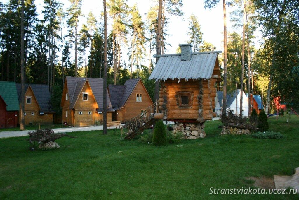 Список домов отдыха и турбазы подмосковья