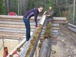 26 Вертикальный брус и безусадочная технология возведения стен